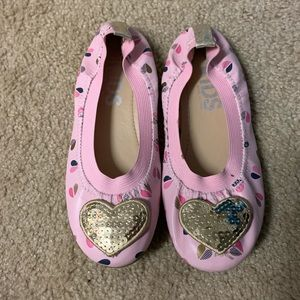 Cotton on girls elastic ballet flats shoes